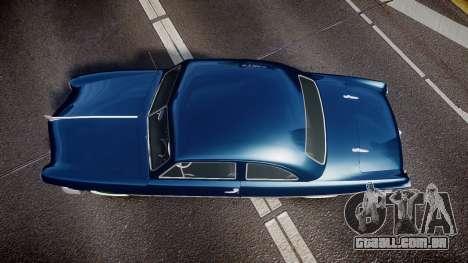 Ford Custom Club 1949 para GTA 4 vista direita