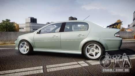 Declasse Premier Sport X para GTA 4 esquerda vista