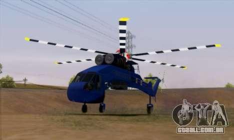 Skylift from GTA IV TBOGT para GTA San Andreas