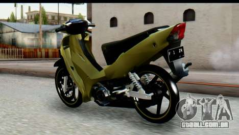 Yamaha F1ZR Stock para GTA San Andreas esquerda vista