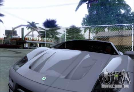 Scalfati GT (Watch Dogs) para GTA San Andreas vista traseira