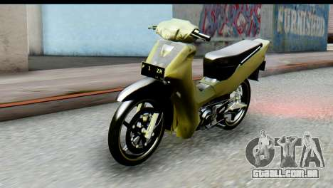 Yamaha F1ZR Stock para GTA San Andreas