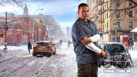 Inverno telas de inicialização para GTA 4 sétima tela