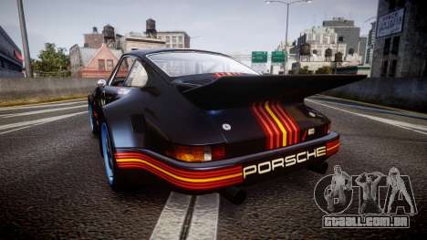 Porsche 911 Carrera RSR 3.0 1974 PJ210 para GTA 4 traseira esquerda vista