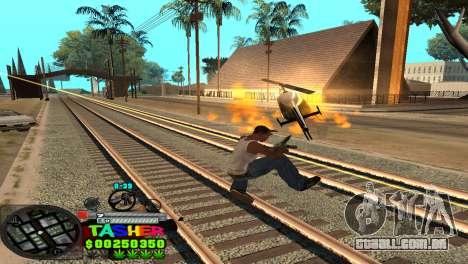 C-HUD Tasher para GTA San Andreas sexta tela