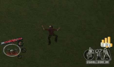 C-HUD Money para GTA San Andreas segunda tela