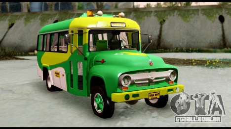 Ford Bus 1956 para GTA San Andreas vista direita