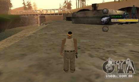 C-HUD TaweR Green para GTA San Andreas terceira tela