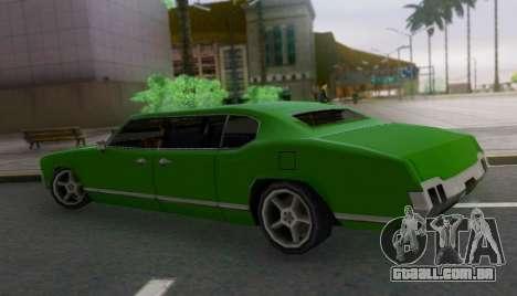 Sabre Limousine para GTA San Andreas esquerda vista