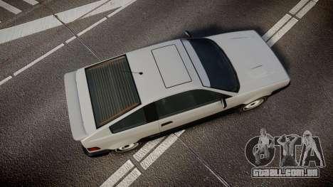 Dinka Blista Compact ST para GTA 4 vista direita