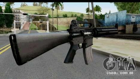 M4A1 from State of Decay para GTA San Andreas segunda tela