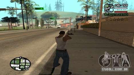 C HUD King Ghetto Life para GTA San Andreas terceira tela