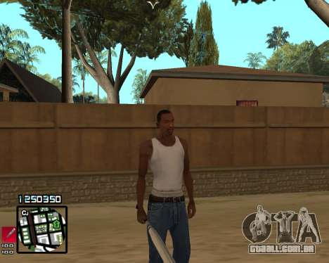 C-HUD Compact para GTA San Andreas terceira tela