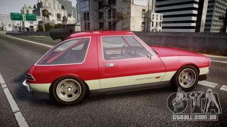 Declasse Rhapsody Camber para GTA 4 esquerda vista