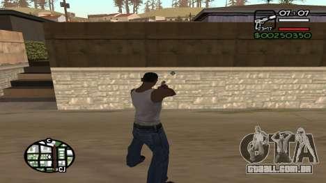 C HUD King Ghetto Life para GTA San Andreas segunda tela