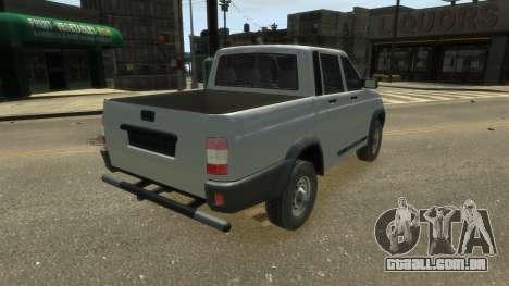 UAZ Patriot Pickup v.2.0 para GTA 4 esquerda vista