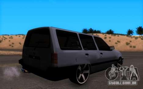 Opel Kadett GSI Caravan para GTA San Andreas esquerda vista