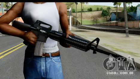 M4A1 from State of Decay para GTA San Andreas terceira tela