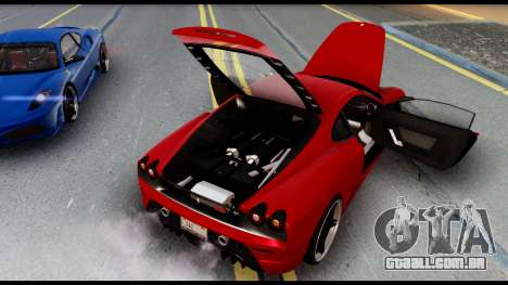 Ferrari F430 Scuderia para GTA San Andreas
