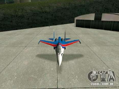 SU-30 MK 2 para GTA San Andreas