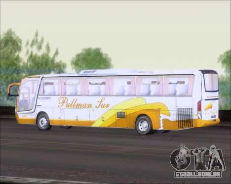 Busscar Vissta Buss LO Pullman Sur para GTA San Andreas vista traseira