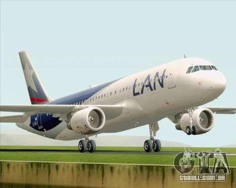 Airbus A320-200 LAN Argentina para GTA San Andreas