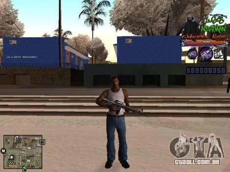 C-HUD Les Alterman para GTA San Andreas segunda tela