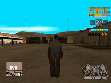 C-HUD Fnatic para GTA San Andreas terceira tela
