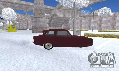 Reliant Regal Sedan para GTA San Andreas vista traseira
