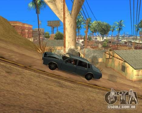 Ledios New Effects para GTA San Andreas twelth tela