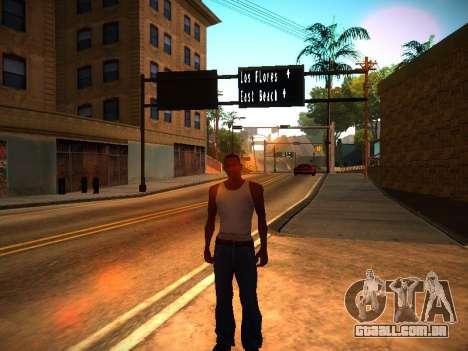 ENB v1.3 para PC fraco para GTA San Andreas segunda tela
