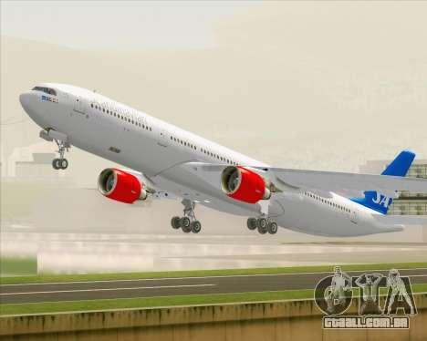 Airbus A330-300 Scandinavian Airlines para GTA San Andreas