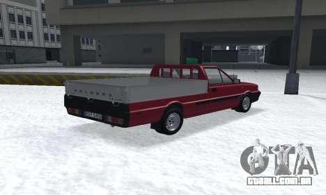 Daewoo FSO Polonez Truck Plus ST 1.9 D 2000 para GTA San Andreas esquerda vista