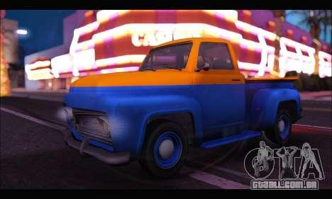 Vapid Slamvan (GTA V) para GTA San Andreas
