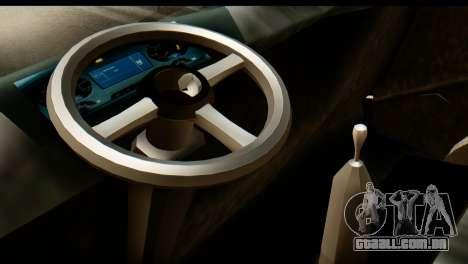 Toyota Dyna Truck Hog Dealer para GTA San Andreas traseira esquerda vista