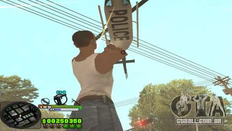 C-HUD Tasher para GTA San Andreas segunda tela