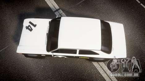Ford Escort RS1600 PJ14 para GTA 4 vista direita