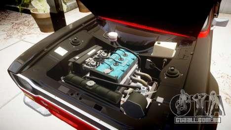 Ford Escort RS1600 PJ62 para GTA 4 vista de volta