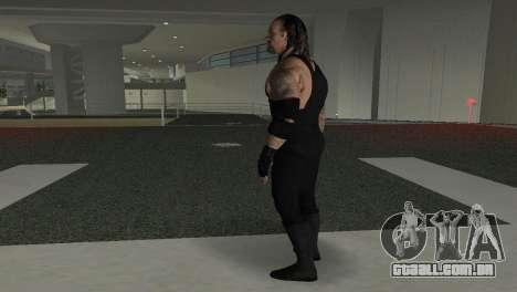 The Undertaker para GTA Vice City por diante tela