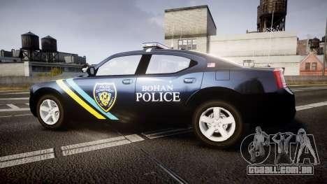 Dodge Charger 2006 Sheriff Bohan [ELS] para GTA 4 esquerda vista