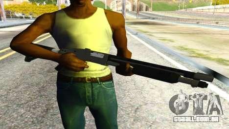 Shotgun from GTA 5 para GTA San Andreas terceira tela