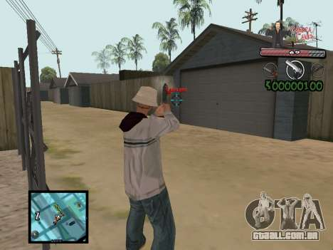 C-Hud Yakuza II para GTA San Andreas por diante tela
