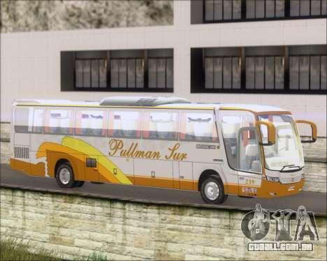 Busscar Vissta Buss LO Pullman Sur para GTA San Andreas esquerda vista