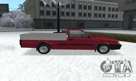Daewoo FSO Polonez Truck Plus ST 1.9 D 2000 para GTA San Andreas vista traseira
