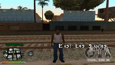 C-HUD Wonderful para GTA San Andreas segunda tela