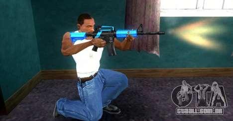 M4 RevoFX para GTA San Andreas segunda tela