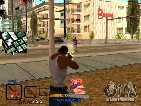 C-HUD by HudMud para GTA San Andreas segunda tela