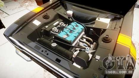 Ford Escort RS1600 PJ14 para GTA 4 vista de volta