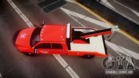 Dodge Ram 3500 Falck Service [ELS] para GTA 4 vista direita