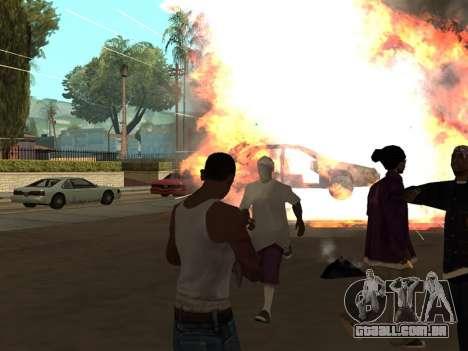 New Realistic Effects 3.0 para GTA San Andreas segunda tela